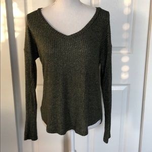 American Eagle Outfitters ribbed long sleeve